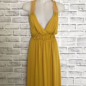 Dresses & Skirts - Vibrant Yellow/Mustard Maxi Dress